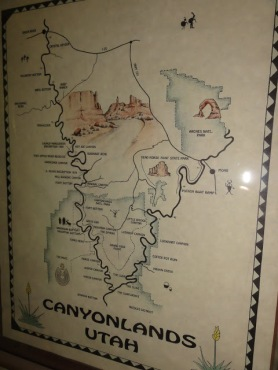 Canyon map