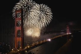 Gold fireworks 3