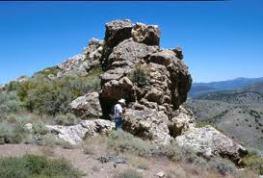 Twain - esmeralda outcrop 1
