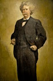 Twain portrait