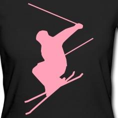 Hot-pink-Ski-jump-C-Eco-Friendly-Tees
