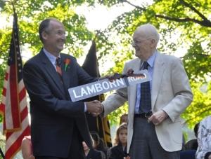 Doc and Bob Lamborn honored