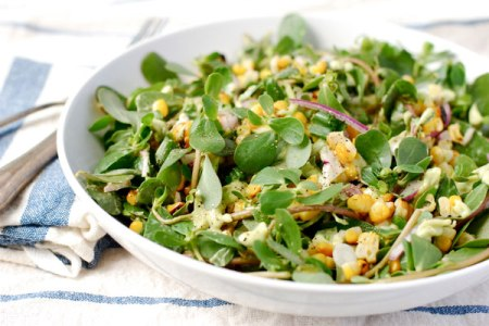 purslane-and-grilled-corn-salad