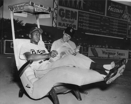 Satchel Paige of the St Louis Browns