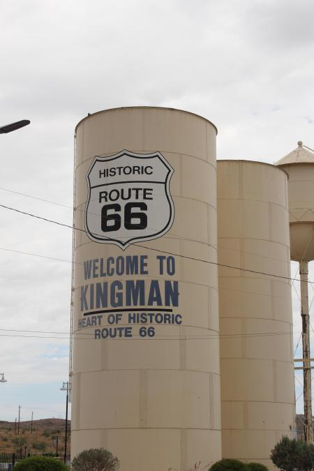 Kingman AZ Water Tower