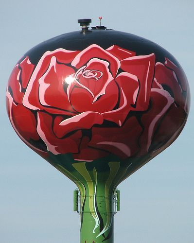 rose water tower