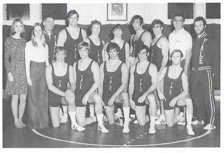 Yearbook Wrestling Team