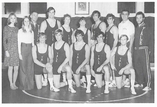 Yearbook Wrestling Team