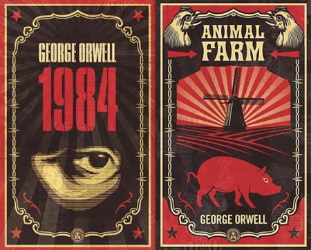 George-Orwell-Animal-Farm-1984