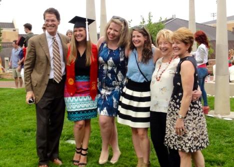 Kat's DU graduation