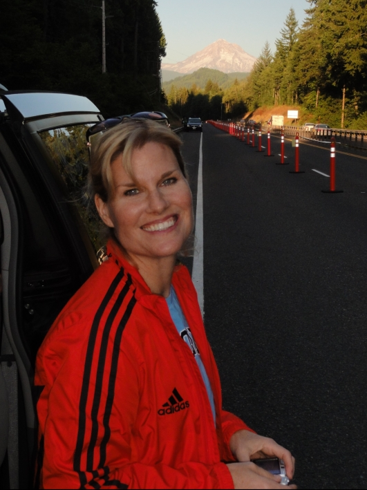 Mary Klaff at Hood to Coast